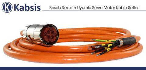 Bosch Rexroth Uyumlu Servo Motor Kablo Setleri
