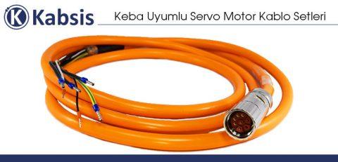Keba Uyumlu Servo Motor Kablo Setleri
