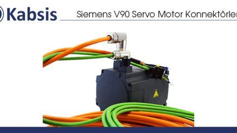 Siemens V90 Servo Motor Konnektörleri
