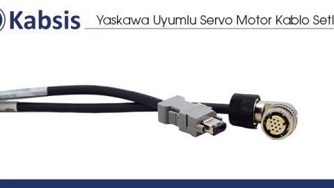 Yaskawa Uyumlu Servo Motor Kablo Setleri