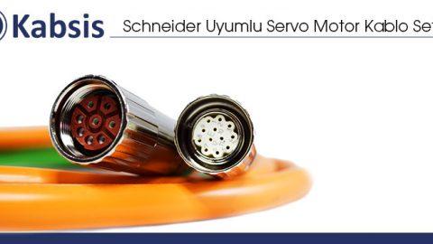 Schneider Uyumlu Servo Motor Kablo Setleri