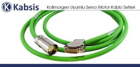 Kollmorgen Uyumlu Servo Motor Kablo Setleri