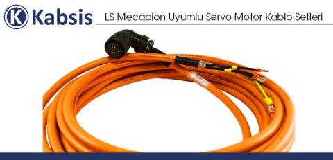 LS Mecapion Uyumlu Servo Motor Kablo Setleri