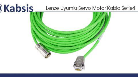 Lenze Uyumlu Servo Motor Kablo Setleri
