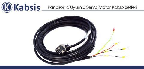Panasonic Uyumlu Servo Motor Kablo Setleri