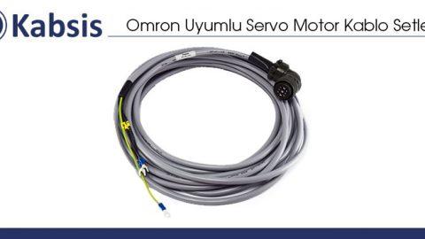 Omron Uyumlu Servo Motor Kablo Setleri