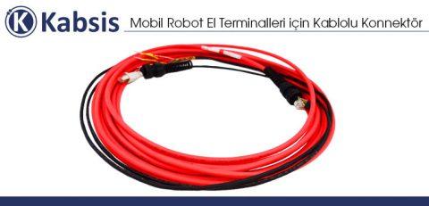 Mobil Robot El Terminalleri için Kablolu Konnektör
